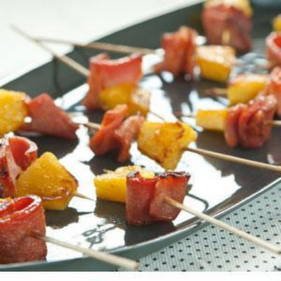 Ham and Pineapple Pops
