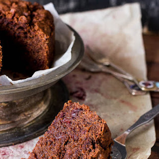 Spiced Beetroot and Chocolate Cake