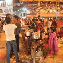 Street Food of Nepal.