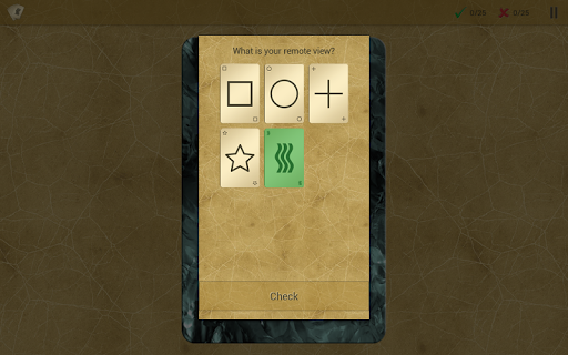 RVCards - Remote Viewing Cards - screenshot