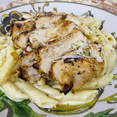 Grilled Cajun Ranch Chicken Pasta