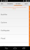 Screenshot of DisasterWatch
