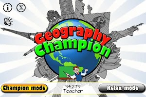Screenshot of Geography Champion