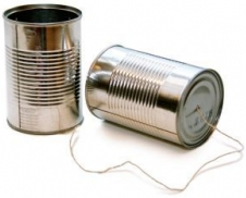 Can telephone