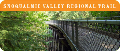 Snoqualmie Valley bike trail