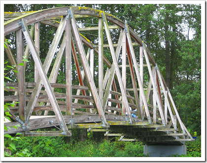 Bothell Landing bridge