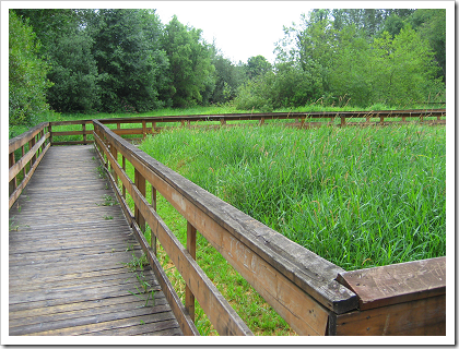 Bothell Landing boardwalk