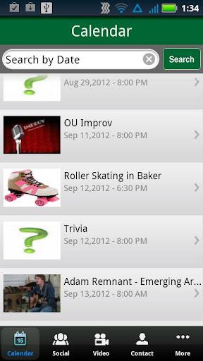 Ohio University Campus Events