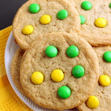 Chewy M&M Cookies