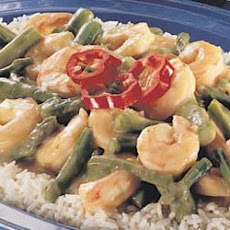 Baked Shrimp and Asparagus