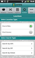 Screenshot of Umpqua Mobile Banking
