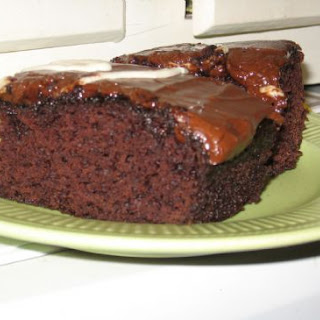 Vegan Low Fat Chocolate Applesauce Cake