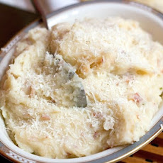 Mashed Potatoes with Prosciutto and Parmesan Cheese
