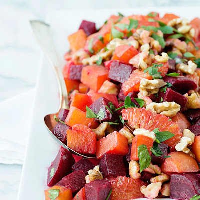 Roasted Beet and Orange Salad