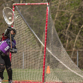 Nothin' but net by Amy Vaughn - Babies & Children Children Candids ( goalie, sports, youth, sports action, lacrosse, youth sports,  )