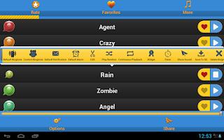 Screenshot of Cool Ringtones 2014