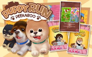 Screenshot of Puppy Run: Peeka Boo