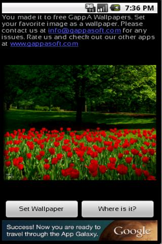 GappA Wallpaper for Android