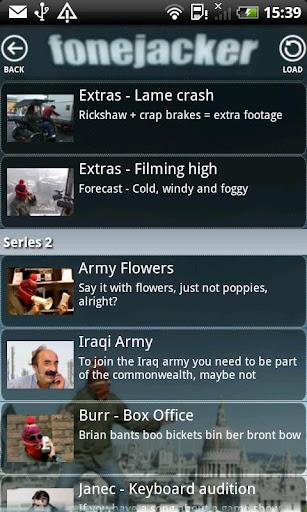 Fonejacker - screenshot