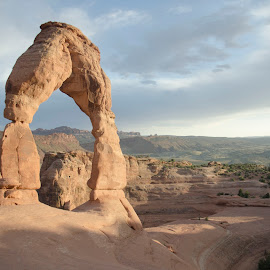 The Delicate Arches In Moah Utah  by Sora Lee - Landscapes Caves & Formations