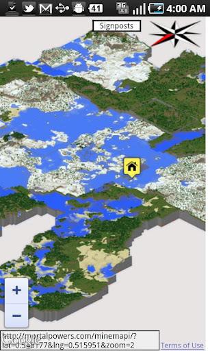 MineMapi Minecraft Map