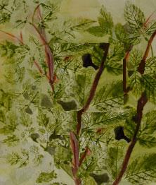 Leaf Painting-Leafy Natural Beauty