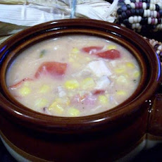 Chicken, Bacon and Corn Chowder