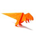 Origami Dinosaur 1