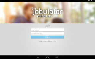 Screenshot of Jobulator Mobile