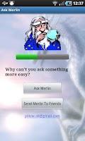 Screenshot of Ask Merlin