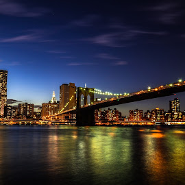 Brooklyn Bridge by Alan Andrews - Novices Only Landscapes