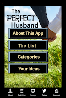 Screenshot of The Perfect Husband App