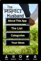 Screenshot of The Perfect Husband App