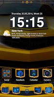 Screenshot of UltimateTask GO Launcher Theme