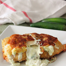 Jalapeno Popper Stuffed Chicken Breast