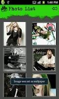 Screenshot of Avril Lavigne App Pinas