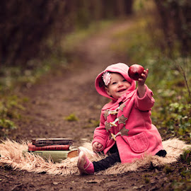 Happy in the Woods by Claire Conybeare - Chinchilla Photography - Babies & Children Toddlers