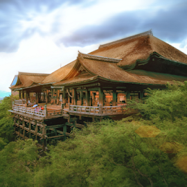 Kiyomizu Temple by Felix Rusli - Landscapes Travel ( japan, travelling, kiyomizu temple, kyoto, osaka, landscape photography, travel, landscape )