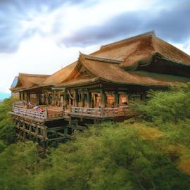 Kiyomizu Temple by Felix Rusli - Buildings & Architecture Other Exteriors ( japan, travelling, kiyomizu temple, kyoto, osaka, landscape photography, travel, landscape )