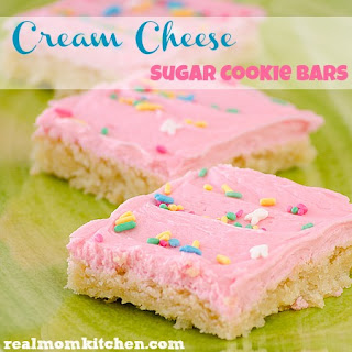 Cream Cheese Sugar Cookie Bars Recipes