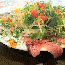 Vegetable Carpaccio With Sesame Dressing