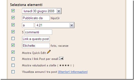 Blogger- Template backup - Configura post sul blog_1214824940632