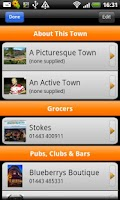 Screenshot of Pontypridd Town Guide