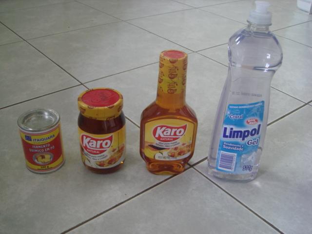 ingredientes - bolha de sabão gigante