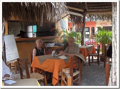breakfast in Sayulita