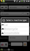 Screenshot of CarsFinder