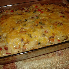 Cheesy Loaded Hash Browns Casserole
