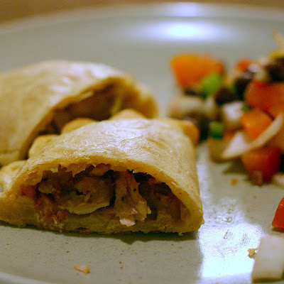 Chicken Empanada with Chorizo and Olives
