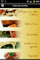 Screenshot of iCocinar Cocina Italia