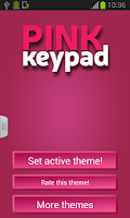 Screenshot of Keypad Pink